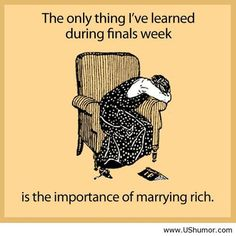 What I learned during finals US Humor - Funny pictures, Quotes, Pics, Photos, Images