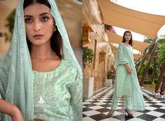 KAAYNAAT-CINDERELLA-PAKISTANI-SUITS-MANUFACTURER-SURAT-6 Latest Pakistani Suits, Cosmos, Cinderella, Sari, Luxury, Fashion, Saree, Moda, Fashion Styles