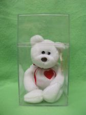 * RARE 1993 TY VALENTINO BEANIE BABY WITH 2 ERRORS ON SWING TAG & NO NUMBER Buy It Now $10000.00