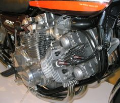 Kawasaki Z1 Special 1600cc Millard V8 Aircooled Engine Kawasaki Motorcycles, Cool Motorcycles, Vintage Motorcycles, Big Dog Motorcycle, Engineering Works, Performance Engines, Combustion Engine, Motorcycle Engine, Motor Scooters