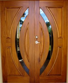Glass Door Design Mandir 52 New Ideas Wooden Front Door Design, Double Door Design, Door Gate Design, Door Design Interior, Wooden Front Doors, Wooden Double Doors, Timber Door, Arched Interior Doors, Arched Doors