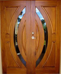Glass Door Design Mandir 52 New Ideas Wooden Front Door Design, Double Door Design, Door Gate Design, Wood Front Doors, Door Design Interior, Wooden Double Doors, Timber Door, Arched Interior Doors, Arched Doors