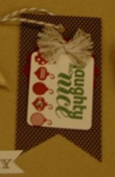 Stampin'Up!,Under the Tree Tag a Bag Accessory Kit,Christmas Bliss