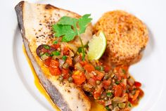 Fish Veracruz | Pescado Veracruzana - had this with Red Snapper at my favourite mexican restaurant and been in love with it ever since.
