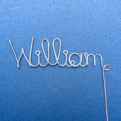 Personalize a cake topper with any name for any occasion! Get it at www.rlhcreations.com. #rlhcreations