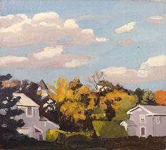 Fairfield Porter, Autumn 2