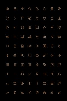 Free Vector Icons. I like the simplicity of this icons. Each of icon carefully crafted and provide pixel perfection