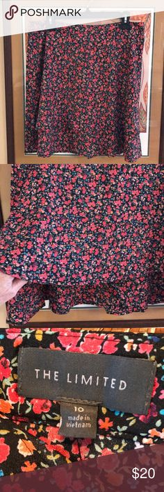 NWT The Limited Skirt Floral print layered skirt from The Limited.  NWT The Limited Skirts