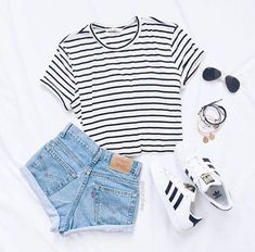 Adidas superstar shoes summer casual cool outfit street style