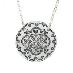 "Beaducation.com online video class ""Mandala Stamping"" with Taryn McCabe"