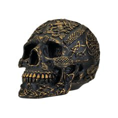 Celtic Skulls Spiritual nature and Physical Mortality. Home Decor Skull Products #HalloweenProp