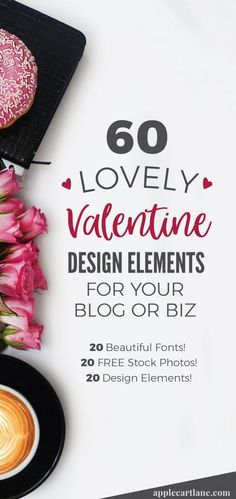 Epic round up of Valentine's Day design elements for bloggers and business owners! Valentines day fonts, valentines day stock photos, valentines day inspiration, valentines day colors, blogging, design tips, graphic design