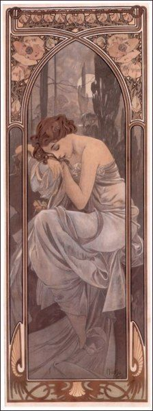 Mucha: soft, feminine, classic, beautiful