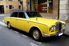 Pour ce jeudi, une #Rolls #Royce #Silver #Shadow
