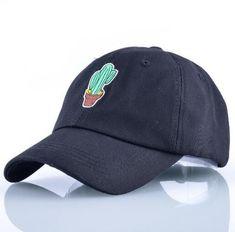 2b5882667c0 black cactus cap dad hat Black Hats