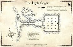 Map Monday : The High Crypt – OSR Today