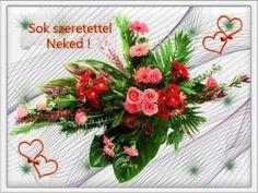 Fogadd szeretettel névnapodra Wreaths, Home Decor, Room Decor, Garlands, Home Interior Design, Decoration Home, Floral Arrangements, Flower Garlands, Home Improvement