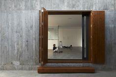 mp house - alcolea+tárrago arquitectos #entrance #door