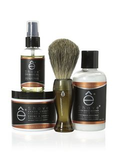 50% OFF eShave Essential 4-Piece Set in Orange Sandalwood Scent, Smoke