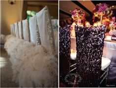 Luxurious & Elegant for bride & groom: Dress Up Your Wedding Chairs