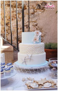 Nautical Wedding Cake by Soraya Sweetmama