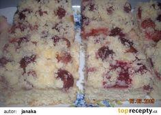 Litý kynutý koláč - hrníčkový, rychlý recept - TopRecepty.cz Russian Recipes, Ricotta, Mashed Potatoes, Oatmeal, Sweets, Cheese, Breakfast, Cake, Ethnic Recipes
