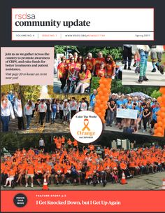 We have returned from our newsletter hiatus! Check out our Spring 2017 edition of the RSDSA Community Update! #CRPS #RSD