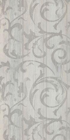 Tapet med medaljongmönster i vintage-til från kollektionen Mirage 49747. klicka för fler fina tapeter för ditt hem!