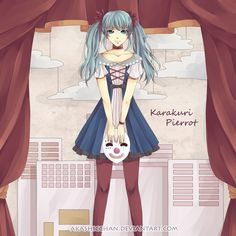 karakuri pierrot by =Akashicchan on deviantART