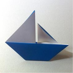 Appunti di una damigella creativa: Barchette di carta