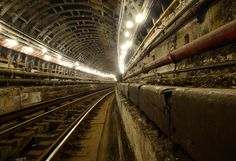 A half-mile stretch of train tunnel built 40 years ago by the MTA will soon be reopened after lying silent and ghostlike for almost twenty years. Resting betwe