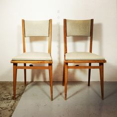 Pair of chairs from the 1950's-1960's.