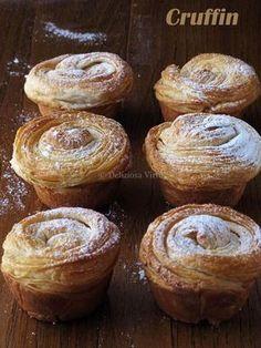 Ciao a tutti…li conoscete? Non è un muffin, non è un croissant… che dire? La nuova moda del momento sono loro i CRUFFIN. La consistenza è simile al croissant, la forma è di un muffin. Morbidi dentro e croccanti all'esterno per via della sfogliatura che si viene a creare. I cruffin si pensa siano stati…