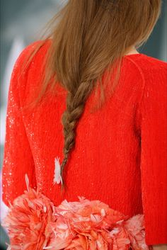 Chanel Haute Couture Spring 2015 - Details