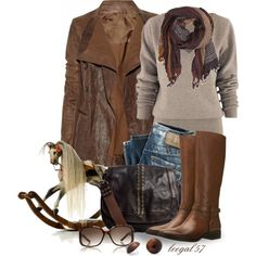 """""""Rockin' the Jacket"""" by leegal57 on Polyvore"""