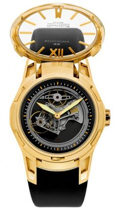 R1 Double Complication Mechanical Skeleton Watch For Men