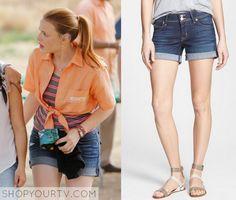 Switched at Birth: Season 4 Episode 15 Daphne's Cuffed Denim Shorts