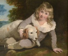 OnlineGalleries.com - PORTRAIT OF A BOY AND HIS DOG