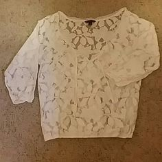 AE Lace shirt Comfortable lace open neck shirt American Eagle Outfitters Tops Blouses