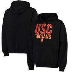 USC Trojans Laird Pullover Hoodie - Black