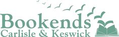 Bookends of Carlisle and Keswick new logo and branding. For their shop signage and business.