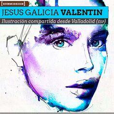 Ilustración. Retrato de JESUS GALICIA VALENTIN Aka Akagami  Ilustración compartida desde Valladolid (ESPAÑA).    Leer más: http://www.colectivobicicleta.com/2012/12/ilustracion-de-jesus-galicia-valentin.html#ixzz2FJttdRtg