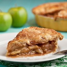 This Apple Pie with Flaky Butter Crust is PERFECT. No partially hydrogenated shortening; the crust is all flaky buttery goodness. Best filling ever.