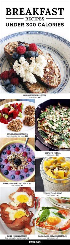 19 Satisfying Breakfasts Under 300 Calories