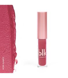 Blk Cosmetics Holiday Mini Soft Matte Mousse Rose Quartz Blk Cosmetics, Mousse, Quartz Rose, Lipstick, Mini, Holiday, Beauty, Lipsticks, Vacations