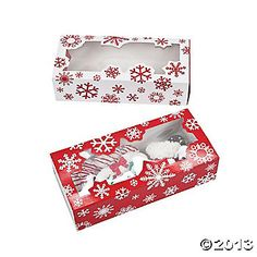 Snowflake Cookie Boxes- $6/12