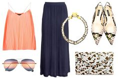 New Wedding Outfits (Using Old Clothes) #refinery29 http://www.refinery29.com/65067#slide-2 Chances are your skirt is a high-waisted version. Layer with one of your roomy, silky camisoles in a coordinating hue (either a shade lighter or darker for a tonal effect, or a complementary color to colorblock). The key is to make sure the top of the cami ends below the smallest part of your waist — it'll create a streamlined, slip-gown-like silhouette that looks super dressy. To...
