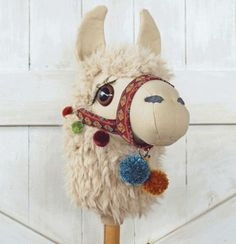 Llama Ride-On Toy Stick Horse Hobby Horse Sewing Pattern