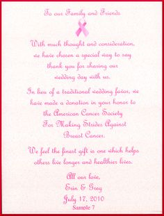 Making Strides Against Breast Cancer Scroll