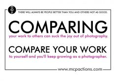 Comparing Yourself to Other Photographers